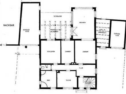 Modernisierte 4-Zimmer Erdgeschoss-Wohnung mit Terrasse und Einbauküche in Fürth