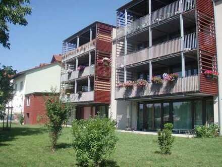 sonnige 3-Zi-Komfort-Passivhaus-Wohnung, Rheinblick + Garten