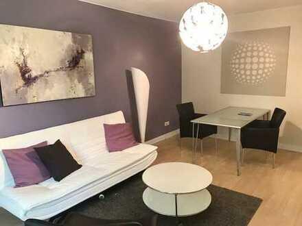 Modern möblierte 2-Zimmer Wohnung/ Balkon/ Telefon-und Internetflatrate/ Pauschalmiete 1.250,00€/