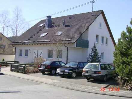 Helle 2ZKB Wohnung mit sichtgeschützter Terrasse und Garage in schöner Wohngegend ab sofort frei