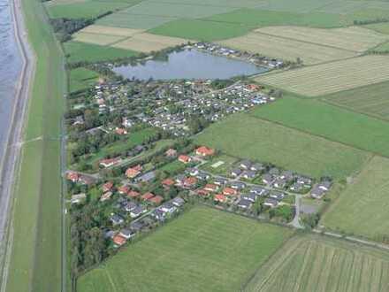 Baugrundstücke voll erschlossen in einem Feriendorfgebiet direkt am Nordseedeich