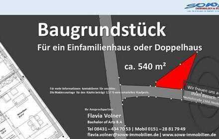 Baugrundstück in Ingolstadt im beliebten Stadtteil Ringsee - SOWA Immobilien und Finanzen