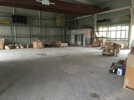 350 m² Lager- /Industriehalle mit 500 m² Außenfläche