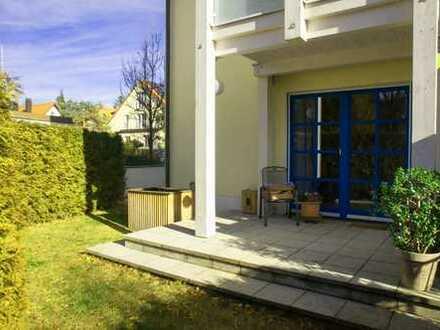 Ruhige und gepflegte 3-Zimmer Gartenwohnung in Bestlage Alt-Solln