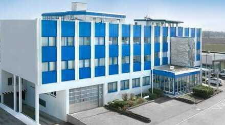 Büro-und Produktionsgeb. mit 52 Stellplätzen, nur 30 Min. vom Flugh. Stuttgart entfernt!!