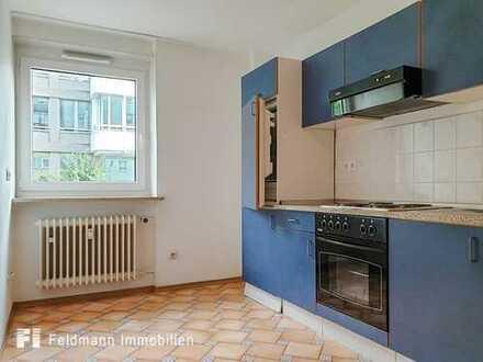Bezugsfrei! Hübsche 2-Zimmer-Wohnung im beliebten Obergiesing.