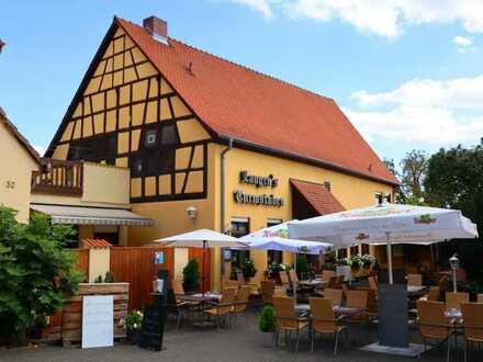 Traditionsreicher und bekannter Gasthof mit Biergarten und Turmzimmer in der Wieslocher Innenstadt
