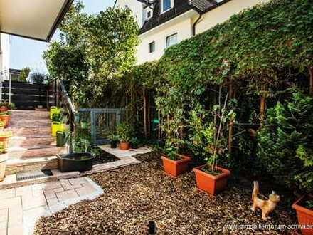RESERVIERT! Sonnige Terrassenwohnung mit Garten! Moosach/Nähe Neuhausen-Nymphenburg