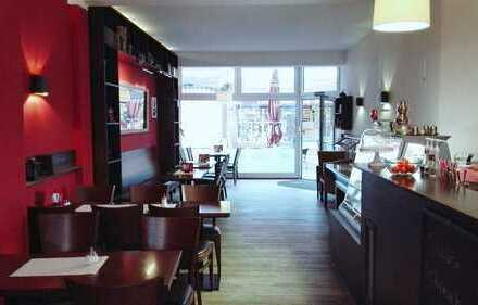 Cafe/Restaurant in Dormagener Fußgängerzone