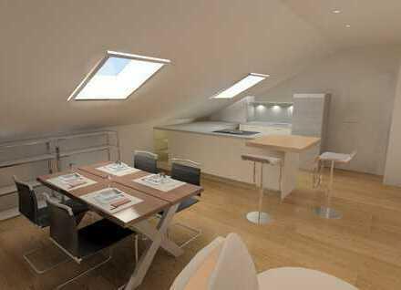 Erstbezug: Penthouse-Feeling in geräumiger 2 Zimmer-Dachwohnung