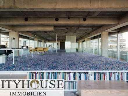 CITYHOUSE: Exklusives Penthousebüro über den Dächern von Köln. Ihre Kunden werden staunen!