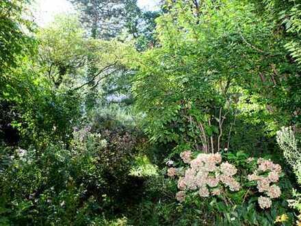 Erdgeschosswohnung mit gr. Garten, absolut ruhig gelegen!