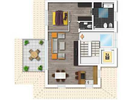 Moderne Wohnung mit Weitblick- Neubau in Bergerhausen