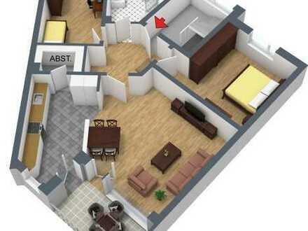 Neuwertige 3-Zimmer-Wohnung im 1. Obergeschoss!