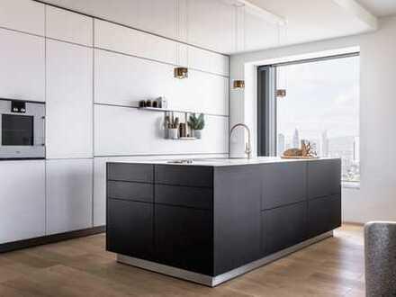 Erstbezug: exklusive 3-Zimmer-Wohnung mit EBK, Wintergarten und Balkon in Frankfurt am Main