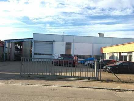 Produktions-/Lagerhalle mit Verwaltung und Büros NÄHE ULM