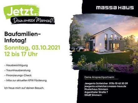 Musterhaus-Infotag am 03.10.21 von 12-17 Uhr in Simmern!