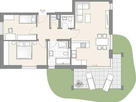 3-Zimmer Erdgeschoss mit tollem Garten (202)