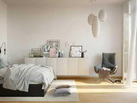 Urban wohnen in zentraler Lage! 2-Zimmer-Wohnung mit hochwertigen Materialien und 2 Balkonen