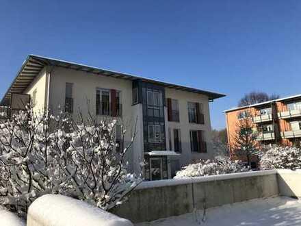 Provisionsfreie, gepflegte 3-Zimmer-Wohnung mit Balkon und freiem Ausblick ins Grüne in Augsburg