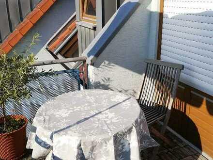 2-Zimmer-Wohnung mit Balkon, Kellerraum und TG-Stellplatz in Michelbach an der Bilz