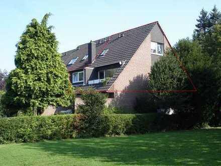Super Lage: Sehr schöne Maisonette Wohnung in St. Tönis, 3ZKDB mit Balkon, eigenem Garten und TG