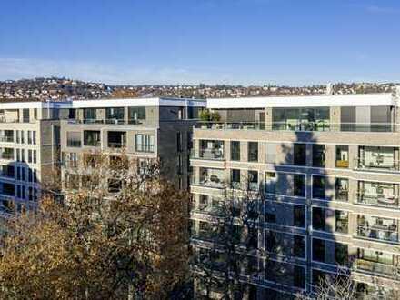 Exklusive 3-Zimmer-Wohnung 83 m² im EG in Stuttgart-West direkt am Berliner Platz - Erstbezug -