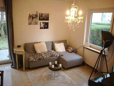 Edles 1ZKB Apartment mit eigenem Garten in Mainz-Finthen