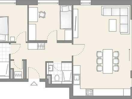 3-Zimmer Wohnung mit großem Südbalkon (703)