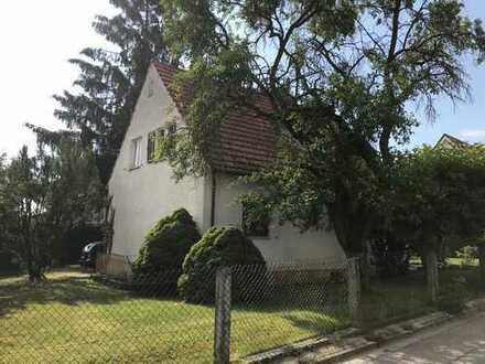 Wohnhaus mit Baugrundstück in Oberbernbach bei AIC