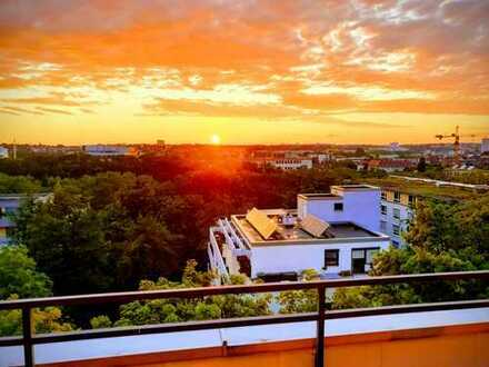 Großzügige Penthouse-Maisonette mit traumhaftem Blick über Heilbronn