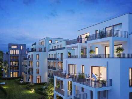 City-Penthouse mit großer Dachterrasse und 2 Tageslichtbädern