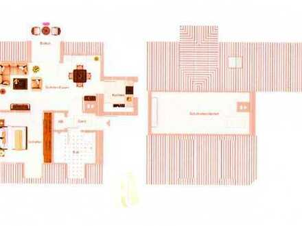 Gepflegte 2-Zimmer-DG-Wohnung mit Balkon in Memmingen / Steinheim