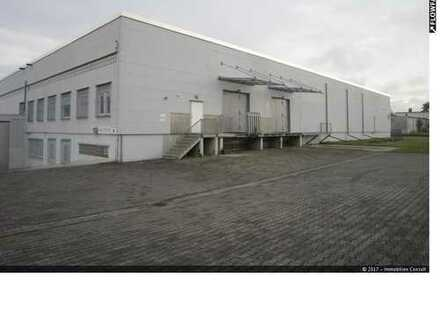 """1.428 m² Lagerhalle inclusive 120 m² Bürofläche """"Im Alleinauftrag"""" zu vermieten"""