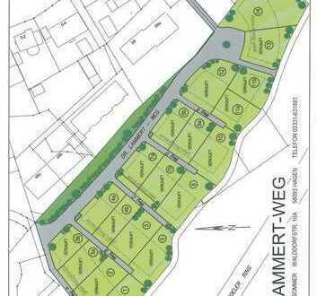 Baugrundstück für Wohnbebauung im Neubaugebiet Hagen-Boele