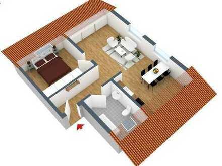 Schnuckelige 2 ZKB Wohnung mit EBK in Groß-Rohrheim