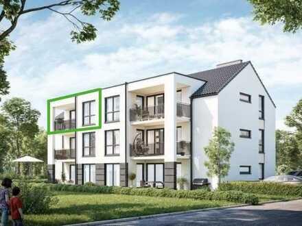 Erstbezug: attraktive 4-Zimmer-Wohnung in Sailauf mit EBK und Fernblick