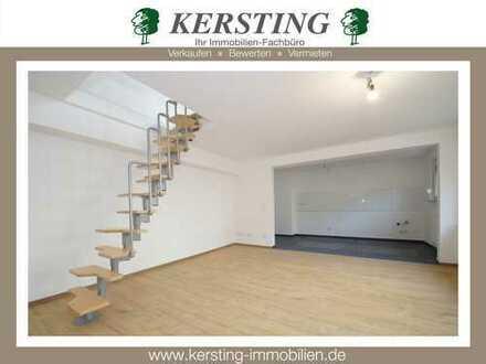 Krefeld Hüls - Erstbezug nach Sanierung! Großzügige Maisonette-Wohnung mit schönem Grundriss!