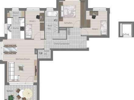Hier läßt sich´s gut leben: Schicke Wohnung mit Ambiente und Flair