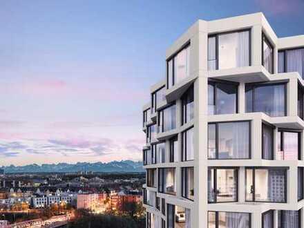 Sehr stylishes Loft mit traumhaften Blick über den Dächern Münchens