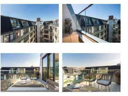 Wohnen im modernen Loft?! möbliert / 2 Schlafzimmer / 2 Balkone