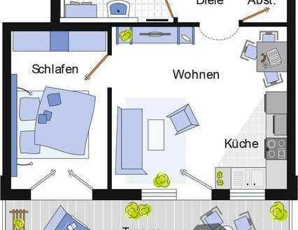 Neuwertige 2-Zimmer-Dachgeschosswohnung mit Balkon und Einbauküche in Besigheim