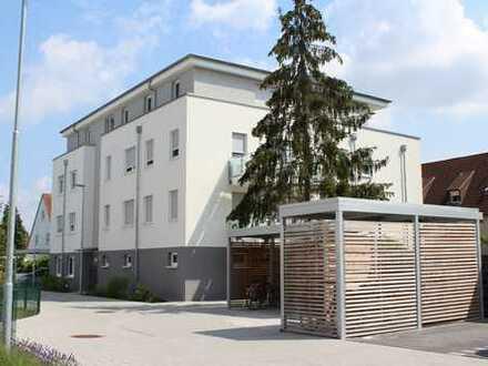 Barrierefreie EG-Wohnung mit Terrasse und Garten