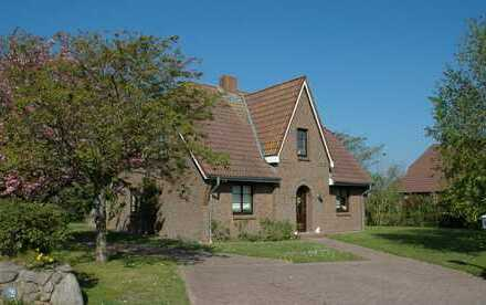 Insel Föhr, ruhig gelegenes, freistehendes Einfamilienhaus