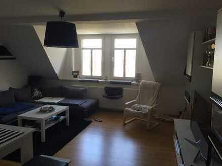 Schöne 2-Zimmer-Dachgeschosswohnung mit Balkon in Bautzen zu vermieten!