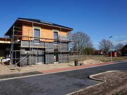 Neubau DHH mit Dachterrasse und Carport in Wahrenholz