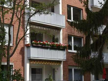 Gepflegte 3Zi. Wohnung mit 2 Balkonen und Garage in Döhren