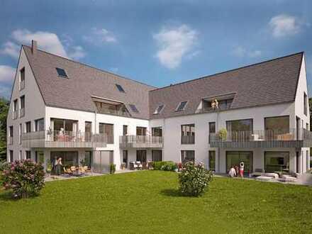 Außergewöhnlich großzügige 3-Zimmer-Neubauwohnung mit Loggia in Ulm-Söflingen