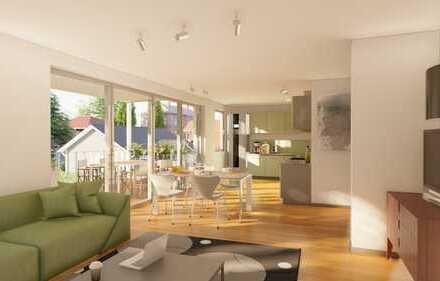 4 Zimmer Obergeschoß - Wohnung mit Balkon (Haus D)