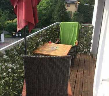 18qm-room with big balcony in Sachsenhausen